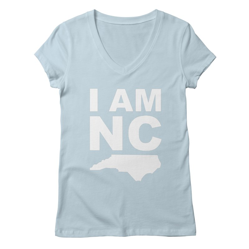 I AM NC Women's V-Neck by Tribe of the Infinite