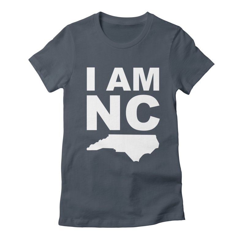 I AM NC Women's Fitted T-Shirt by Tribe of the Infinite