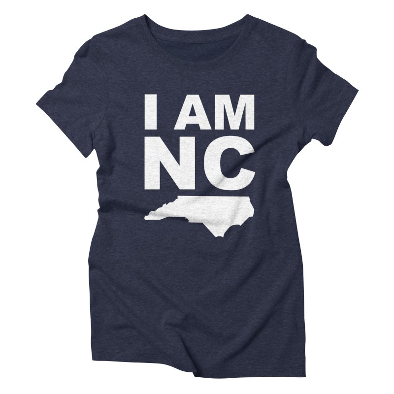 I AM NC Women's Triblend T-shirt by Tribe of the Infinite