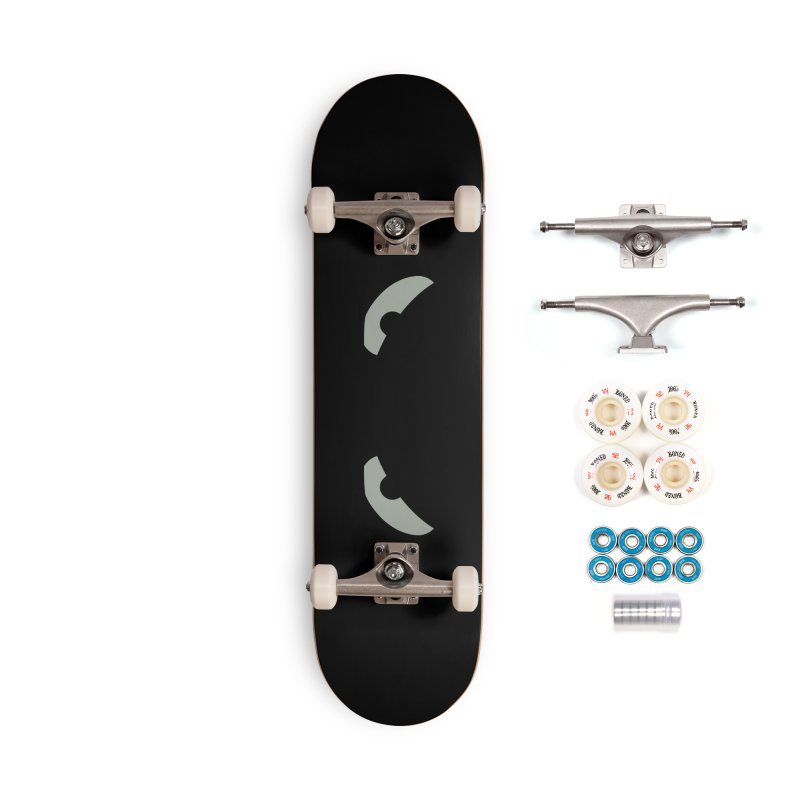 Fine Deck - Toa - Tribal Grey Eyes - Limited Edition Set Accessories Complete - Premium Skateboard by TribEyes by Oly