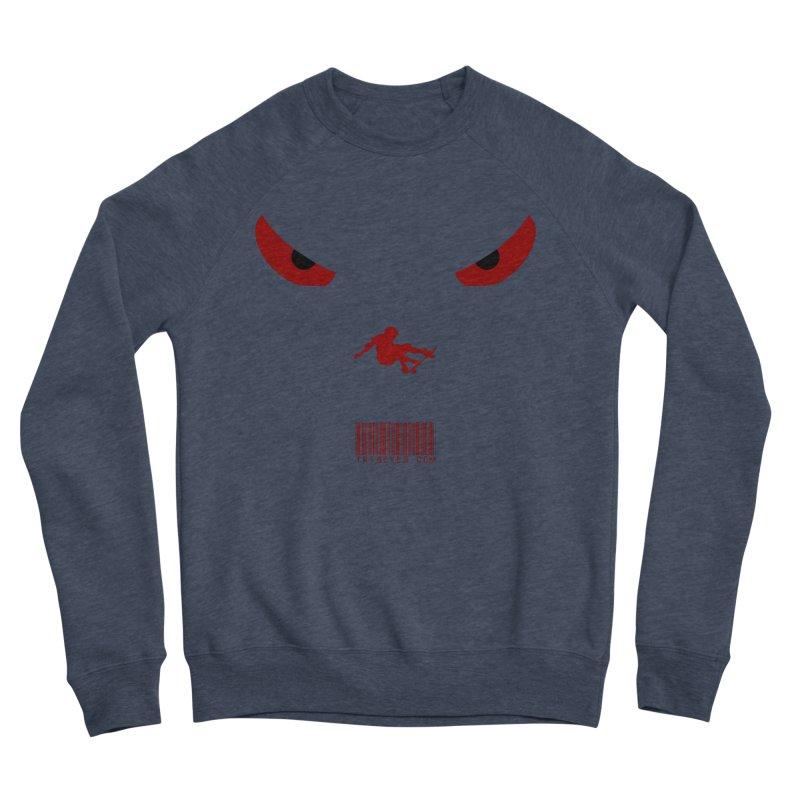 Toa - Tribal Dark Red Eyes - Limited Edition SK8 Men's Sponge Fleece Sweatshirt by TribEyes by Oly