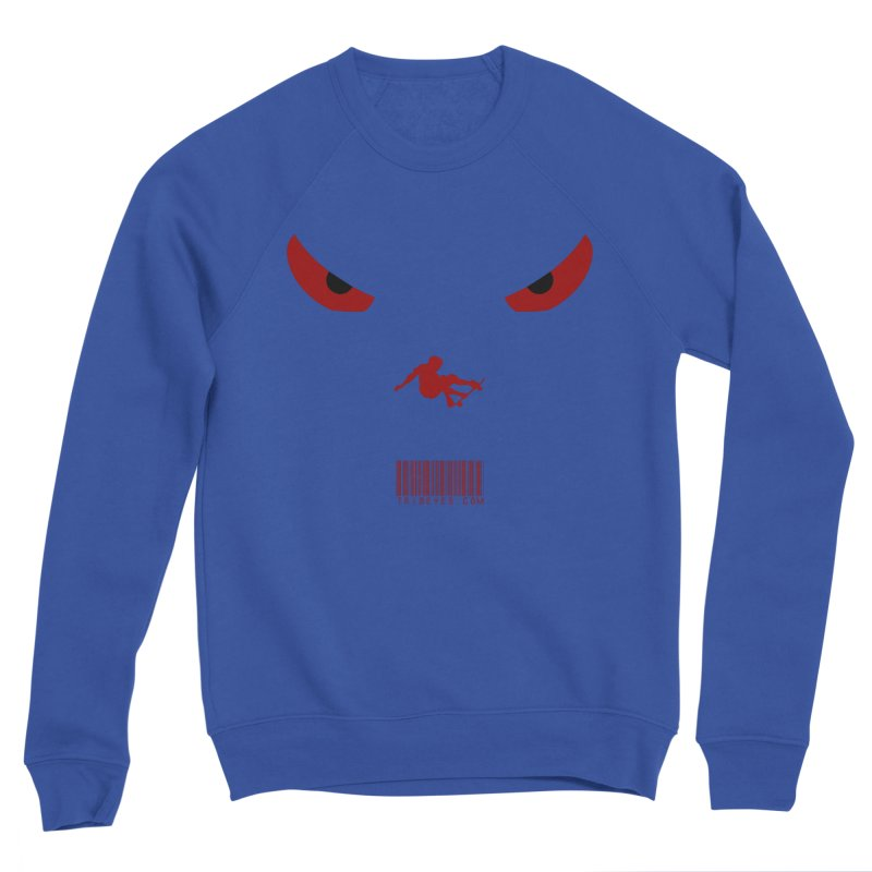 Toa - Tribal Dark Red Eyes - Limited Edition SK8 Women's Sweatshirt by TribEyes by Oly
