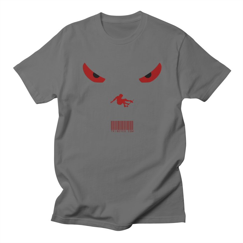 Toa - Tribal Dark Red Eyes - Limited Edition SK8 Men's T-Shirt by TribEyes by Oly