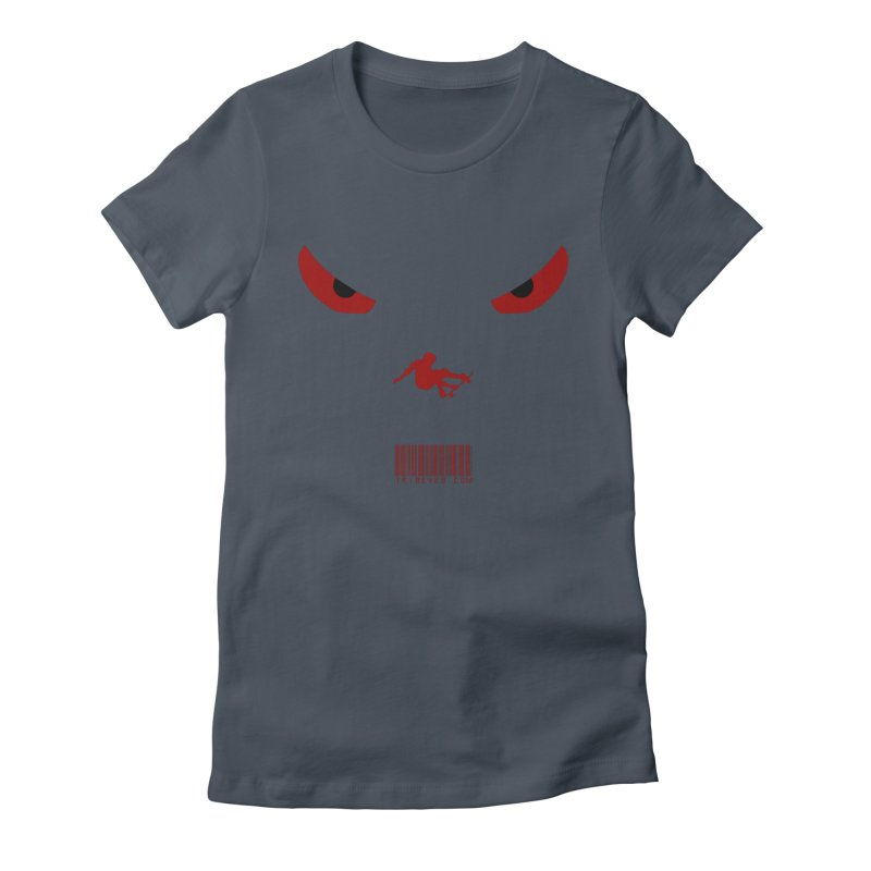 Toa - Tribal Dark Red Eyes - Limited Edition SK8 Women's T-Shirt by TribEyes by Oly