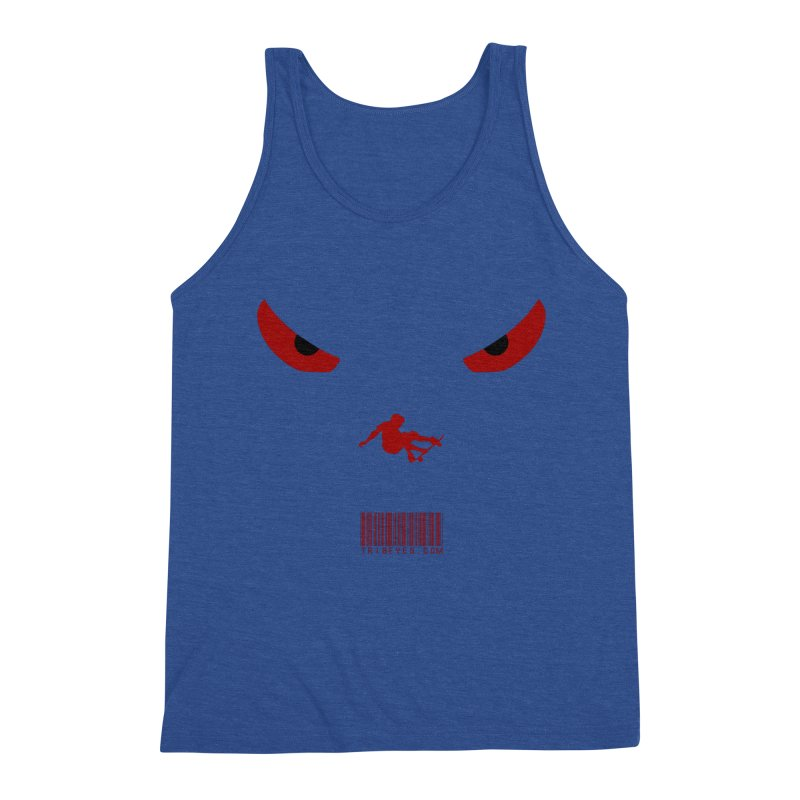 Toa - Tribal Dark Red Eyes - Limited Edition SK8 Men's Tank by TribEyes by Oly