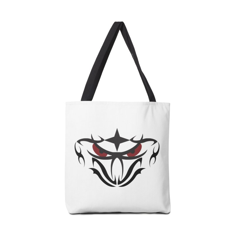 Toa ! Tribal Bold and Victorious - Red Eyes Accessories Bag by TribEyes by Oly