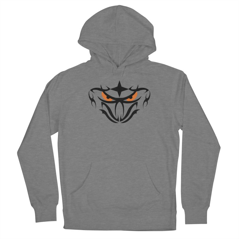 Toa ! Tribal Bold and Victorious - Orange Eyes Women's Pullover Hoody by TribEyes by Oly