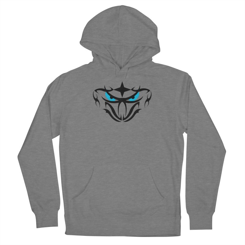 Toa ! Tribal Bold and Victorious - Blue Eyes Women's Pullover Hoody by TribEyes by Oly