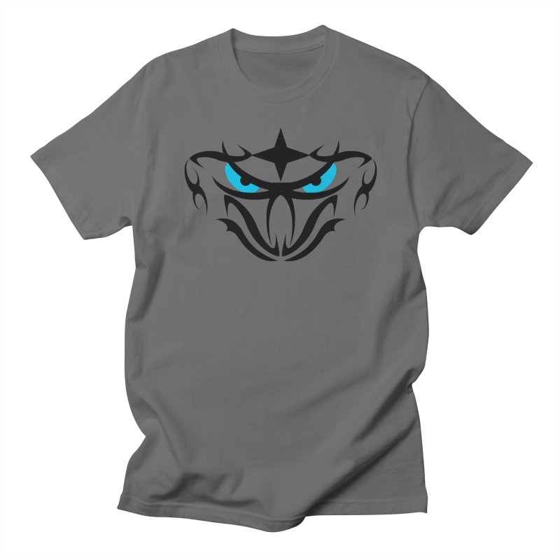 Toa ! Tribal Bold and Victorious - Blue Eyes Men's T-Shirt by TribEyes by Oly