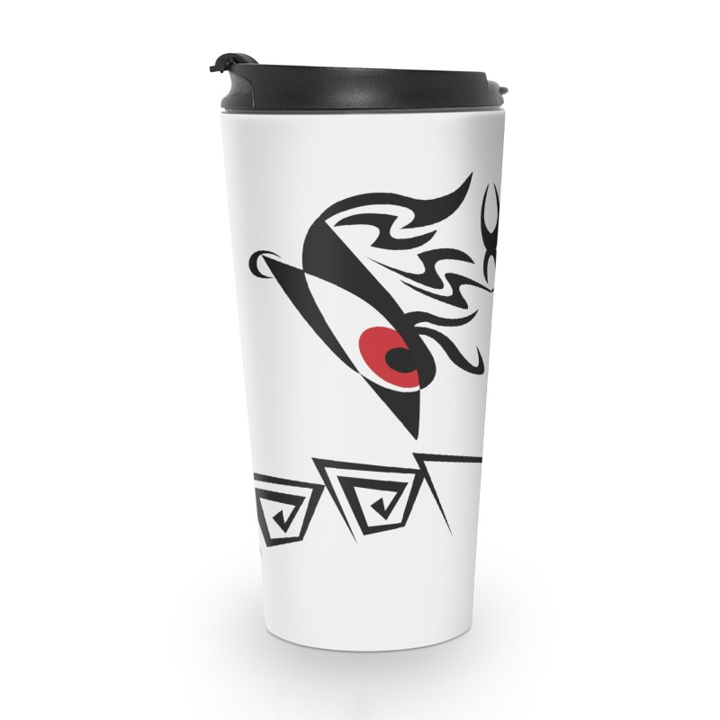 Tohunga ! The Tribal Guru - Red Eyes Accessories Mug by TribEyes by Oly