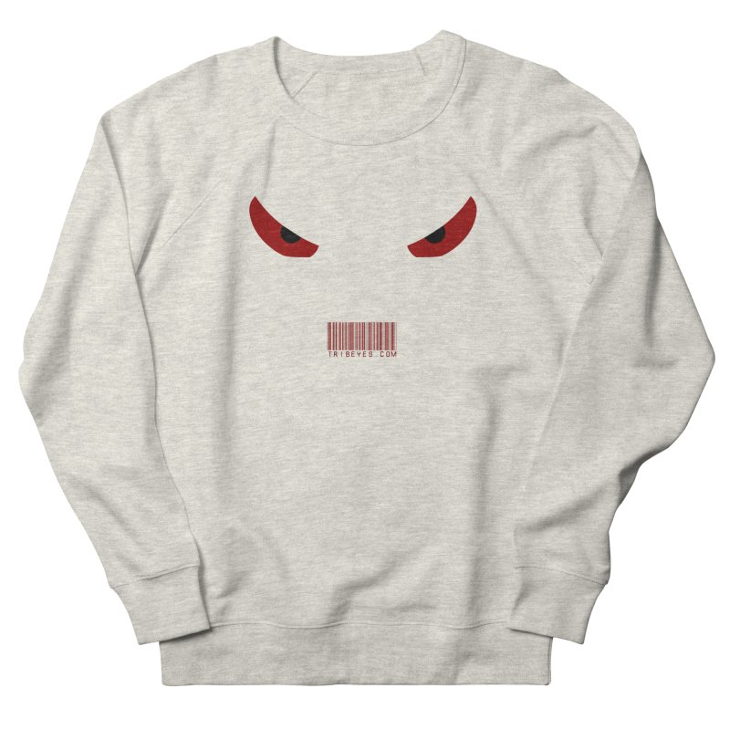 Toa - Tribal Red Eyes - with Barcode Men's Sweatshirt by TribEyes by Oly