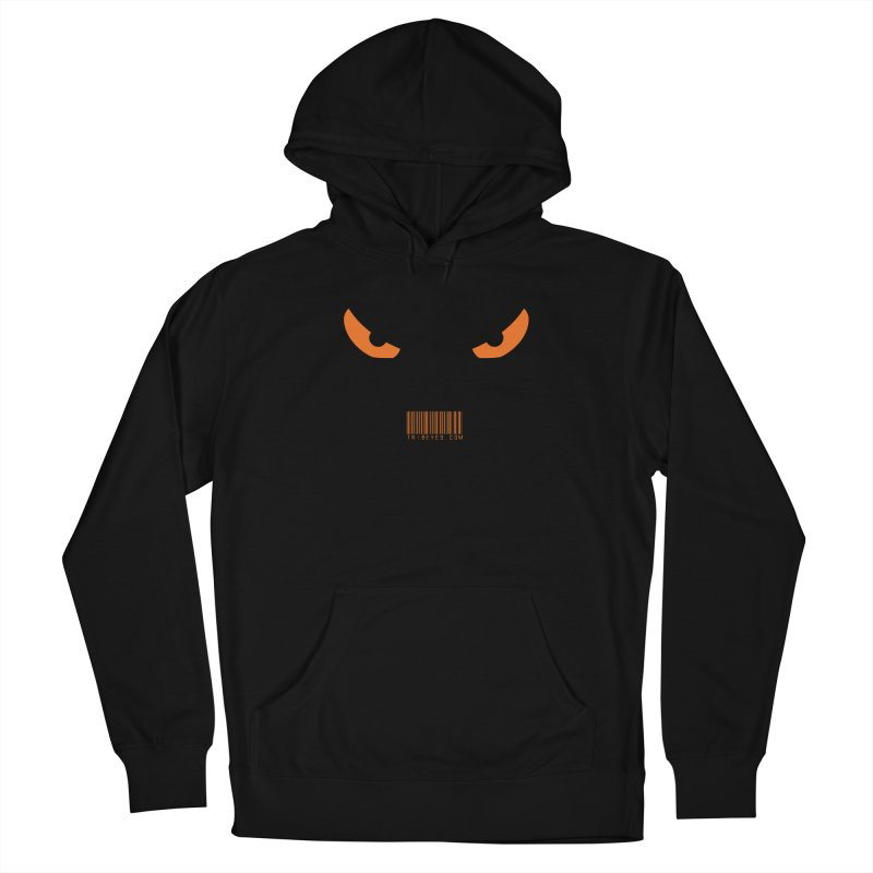 Toa - Tribal Orange Eyes - with Barcode Women's Pullover Hoody by TribEyes by Oly