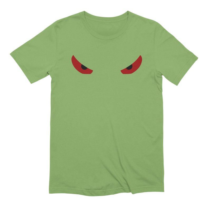 Toa - Tribal Red Eyes - Limited Edition Men's Extra Soft T-Shirt by TribEyes by Oly