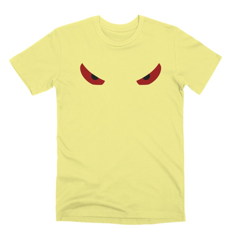 Toa - Tribal Red Eyes - Limited Edition Men's Premium T-Shirt by TribEyes by Oly