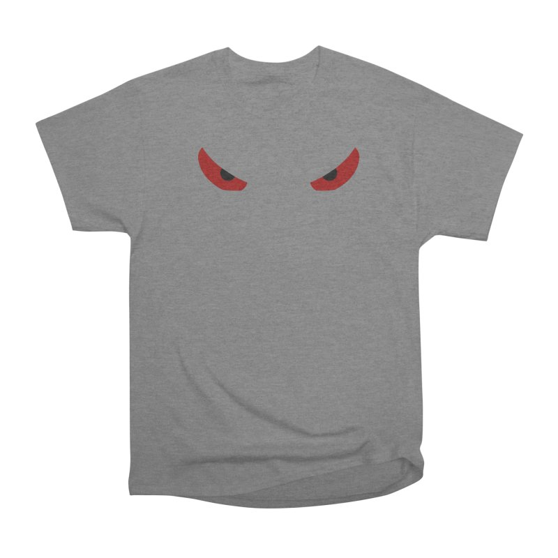 Toa - Tribal Red Eyes - Limited Edition Men's Heavyweight T-Shirt by TribEyes by Oly