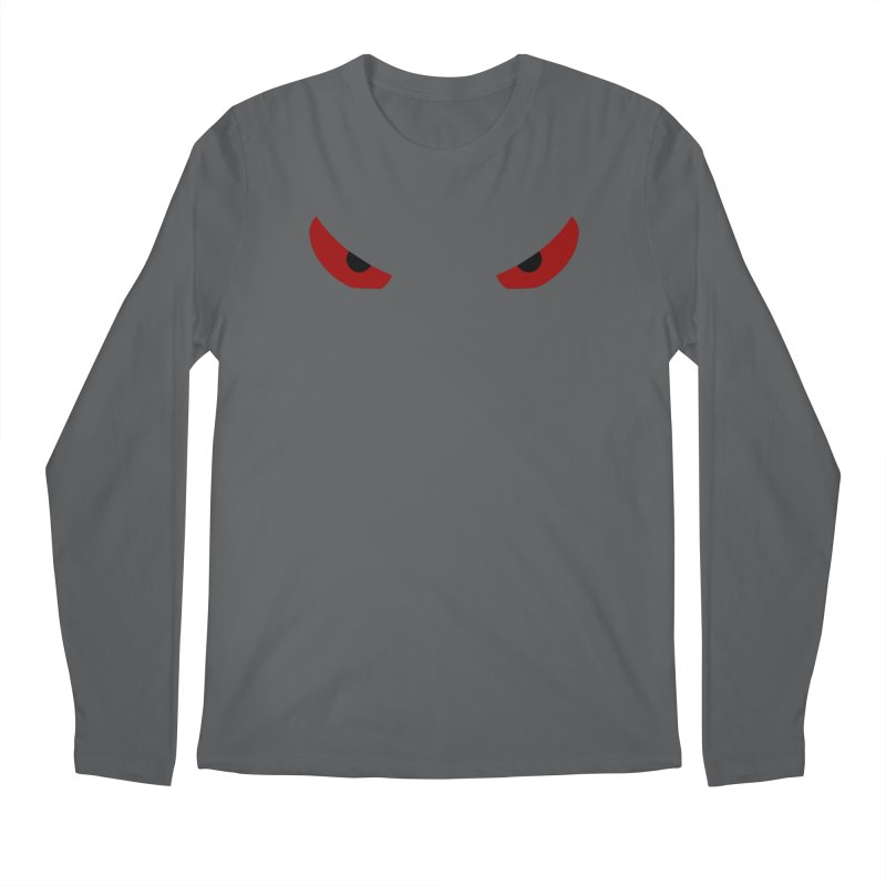 Toa - Tribal Red Eyes - Limited Edition Men's Longsleeve T-Shirt by TribEyes by Oly