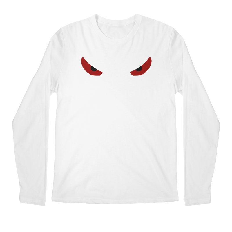 Toa - Tribal Red Eyes - Limited Edition Men's Regular Longsleeve T-Shirt by TribEyes by Oly
