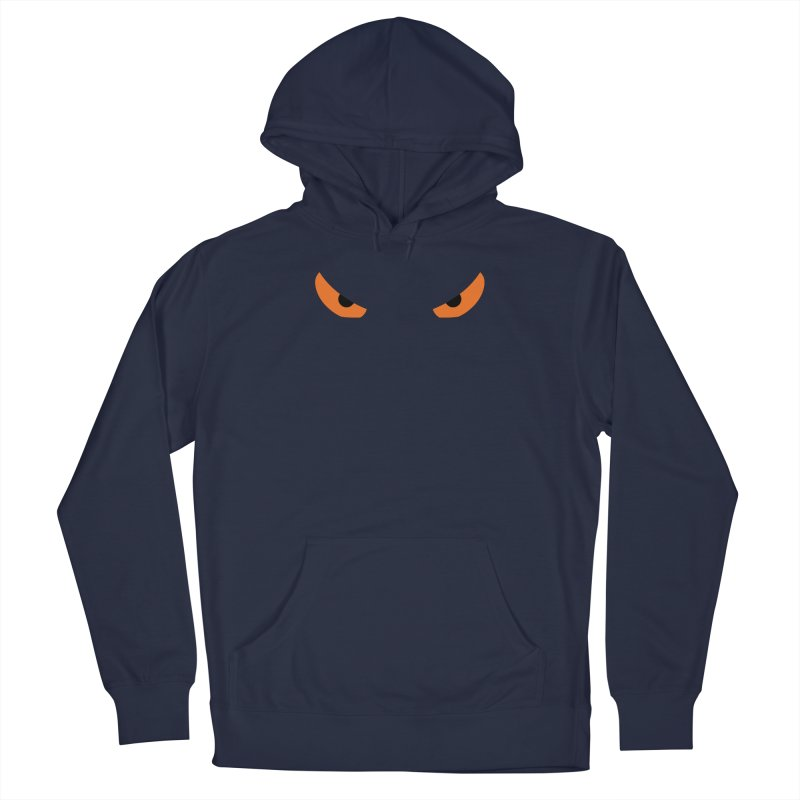 Toa - Tribal Orange Eyes - Limited Edition Men's Pullover Hoody by TribEyes by Oly