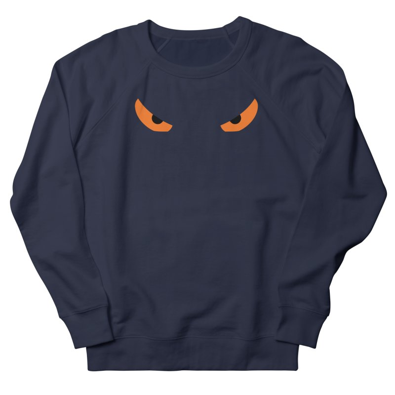 Toa - Tribal Orange Eyes - Limited Edition Women's French Terry Sweatshirt by TribEyes by Oly