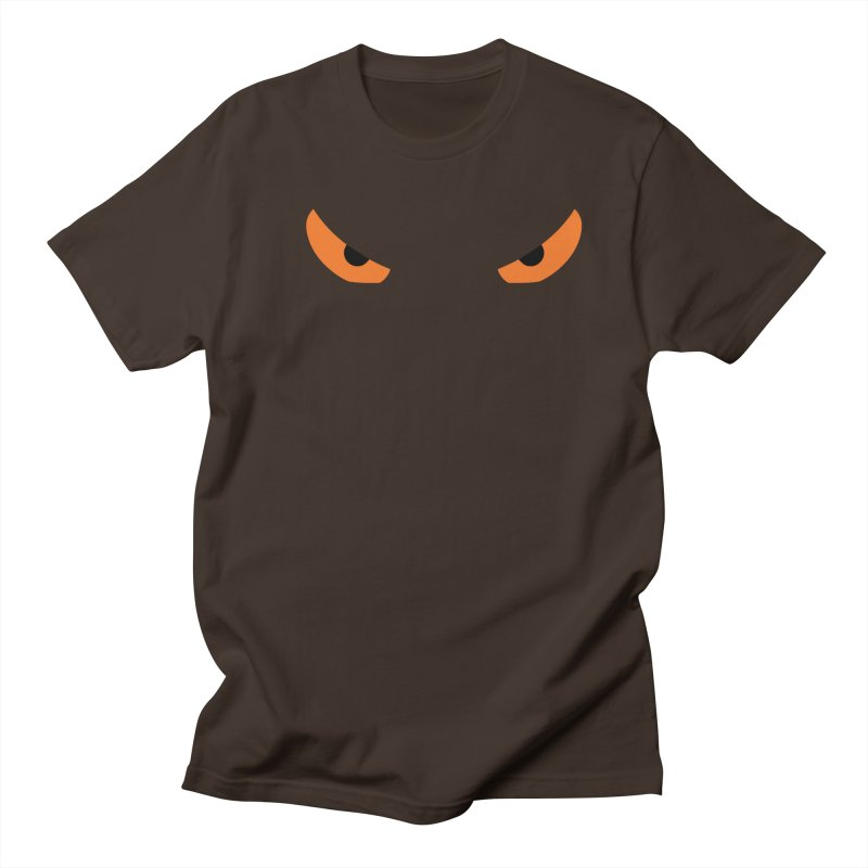 Toa - Tribal Orange Eyes - Limited Edition Men's Regular T-Shirt by TribEyes by Oly