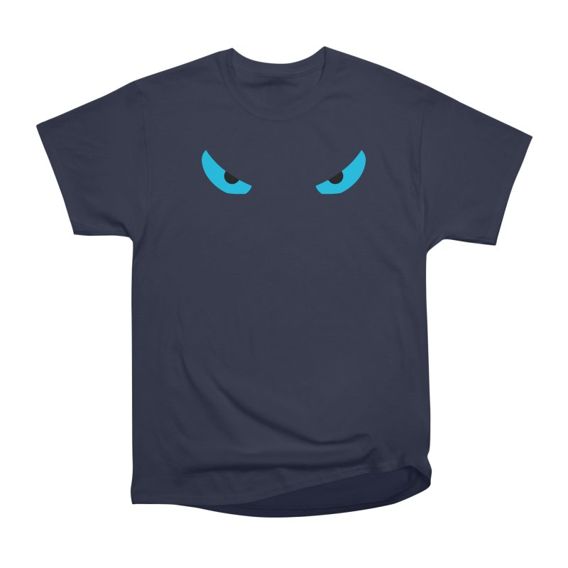 Toa - Tribal Blue Eyes - Limited Edition Men's Heavyweight T-Shirt by TribEyes by Oly