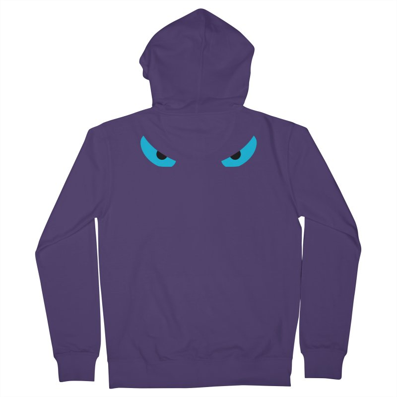 Toa - Tribal Blue Eyes - Limited Edition Women's Zip-Up Hoody by TribEyes by Oly