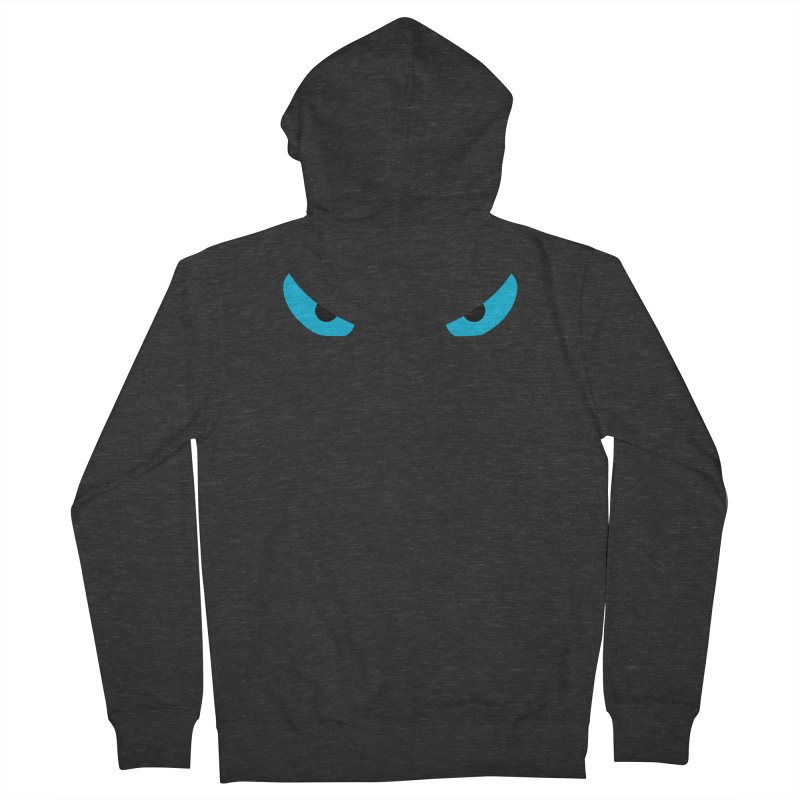 Toa - Tribal Blue Eyes - Limited Edition Men's French Terry Zip-Up Hoody by TribEyes by Oly