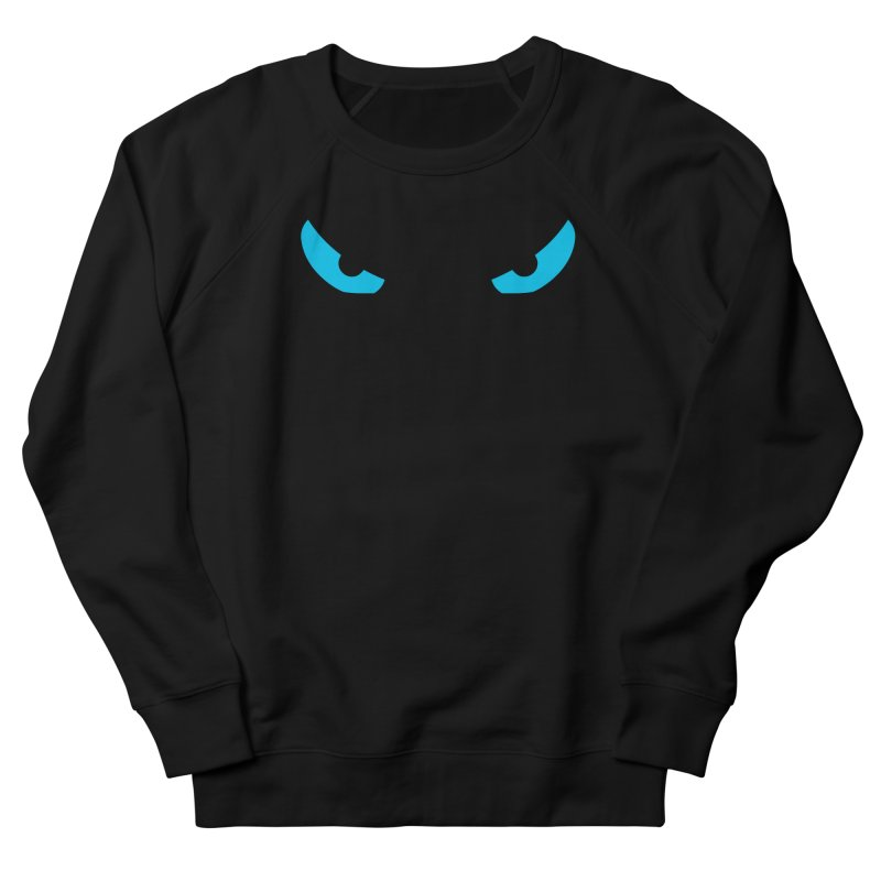 Toa - Tribal Blue Eyes - Limited Edition Men's French Terry Sweatshirt by TribEyes by Oly