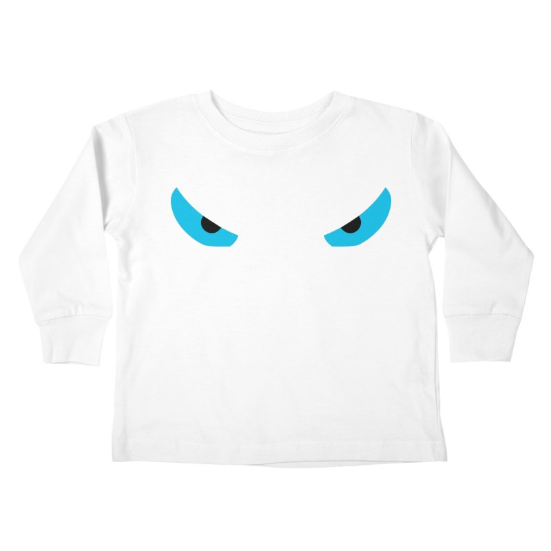 Toa - Tribal Blue Eyes - Limited Edition Kids Toddler Longsleeve T-Shirt by TribEyes by Oly