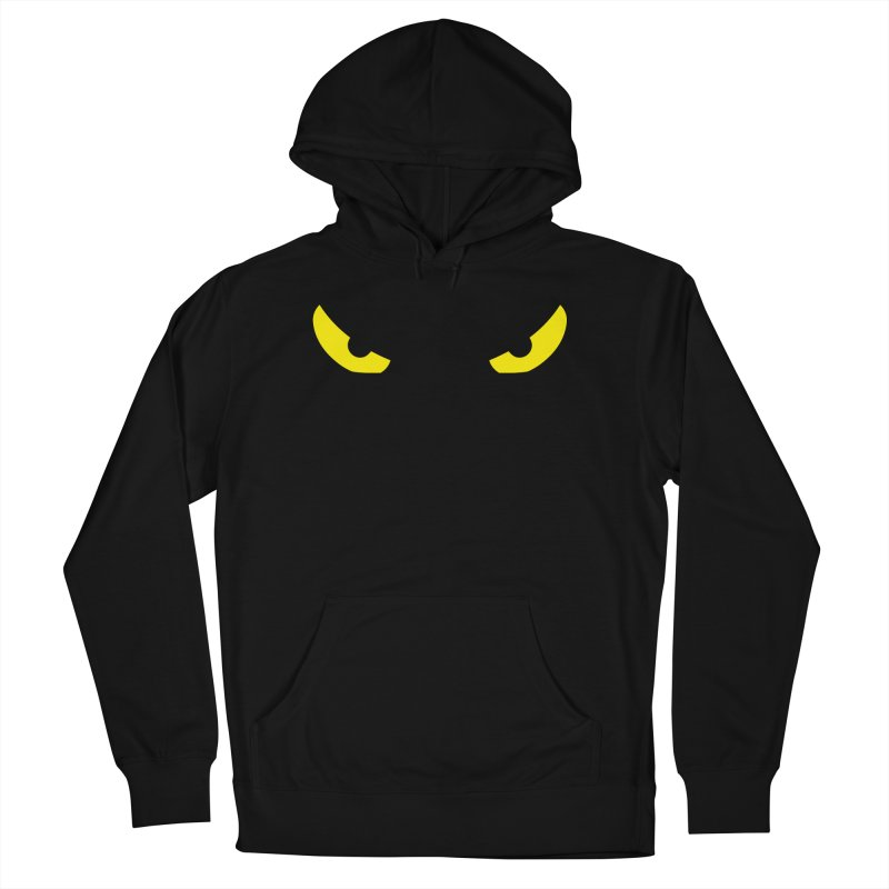 Toa - Tribal Yellow Eyes - Limited Edition Women's French Terry Pullover Hoody by TribEyes by Oly