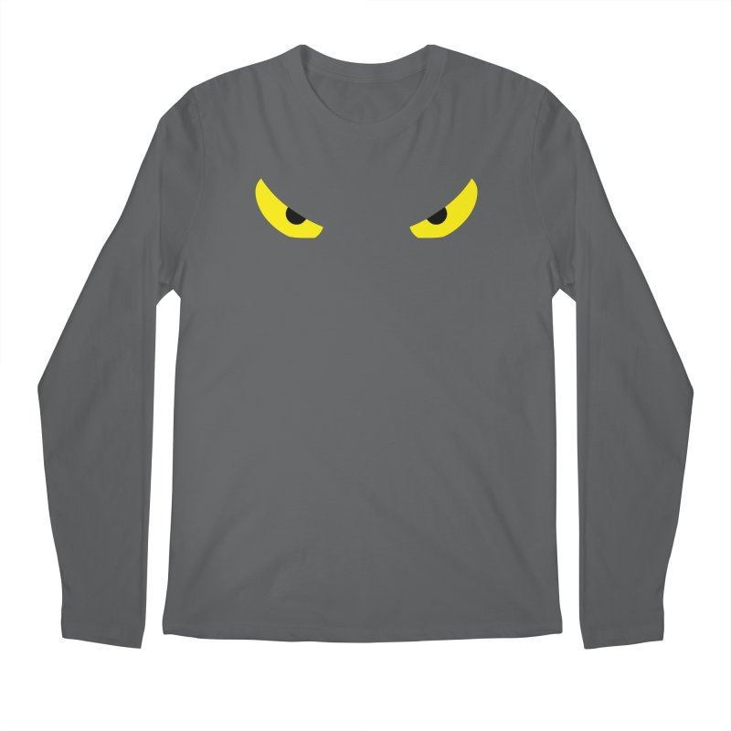 Toa - Tribal Yellow Eyes - Limited Edition Men's Regular Longsleeve T-Shirt by TribEyes by Oly