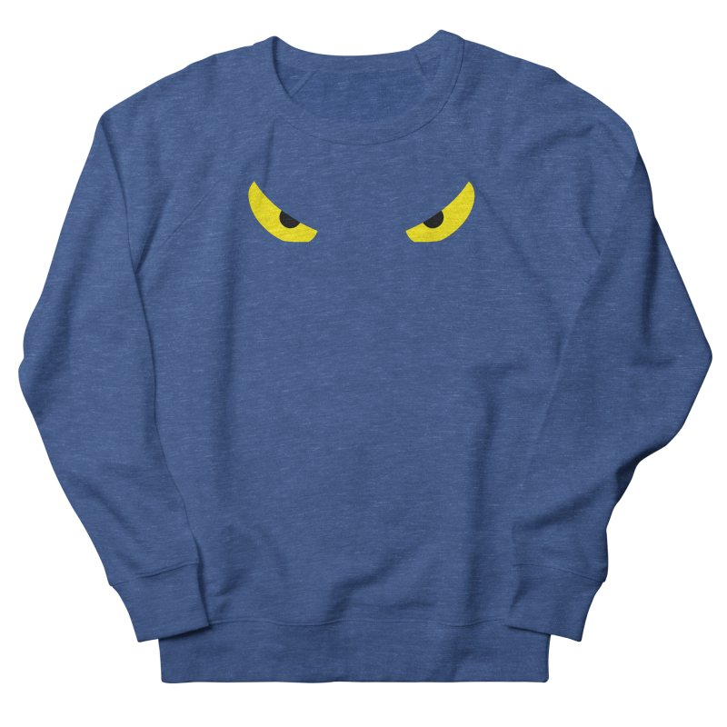 Toa - Tribal Yellow Eyes - Limited Edition Women's French Terry Sweatshirt by TribEyes by Oly