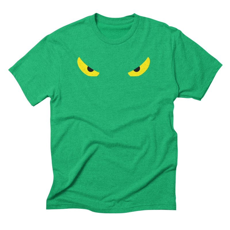 Toa - Tribal Yellow Eyes - Limited Edition Men's Triblend T-Shirt by TribEyes by Oly