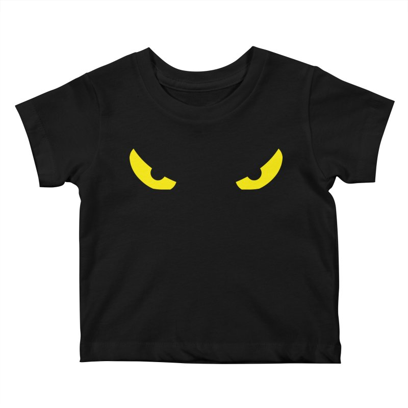 Toa - Tribal Yellow Eyes - Limited Edition Kids Baby T-Shirt by TribEyes by Oly