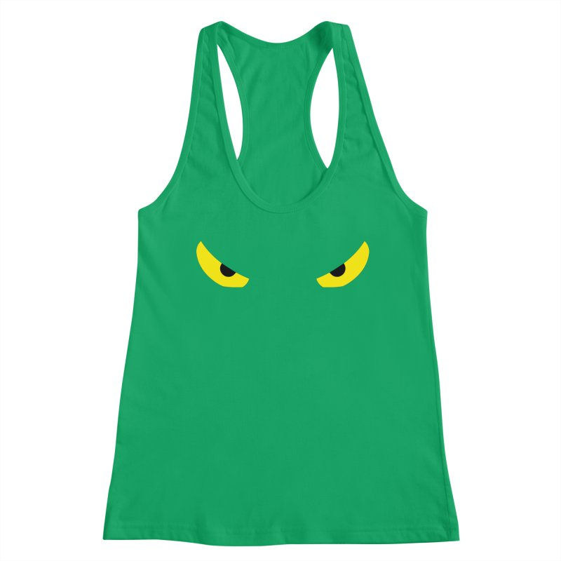 Toa - Tribal Yellow Eyes - Limited Edition Women's Tank by TribEyes by Oly