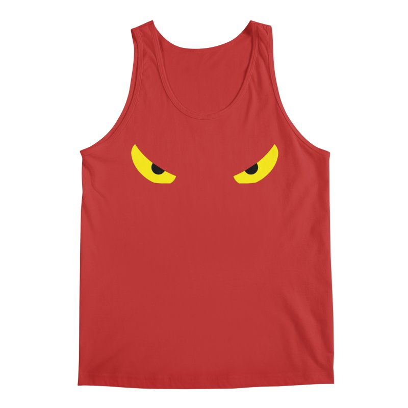 Toa - Tribal Yellow Eyes - Limited Edition Men's Regular Tank by TribEyes by Oly