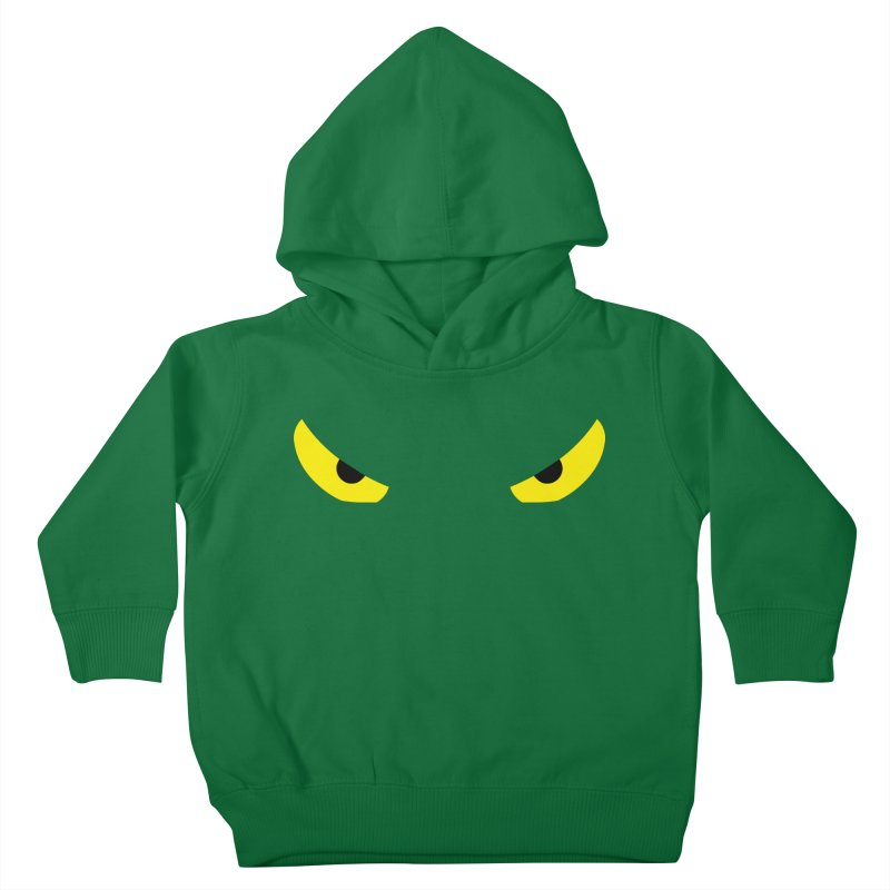 Toa - Tribal Yellow Eyes - Limited Edition Kids Toddler Pullover Hoody by TribEyes by Oly