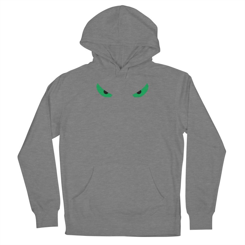 Toa - Tribal Green Eyes - Limited Edition Women's Pullover Hoody by TribEyes by Oly