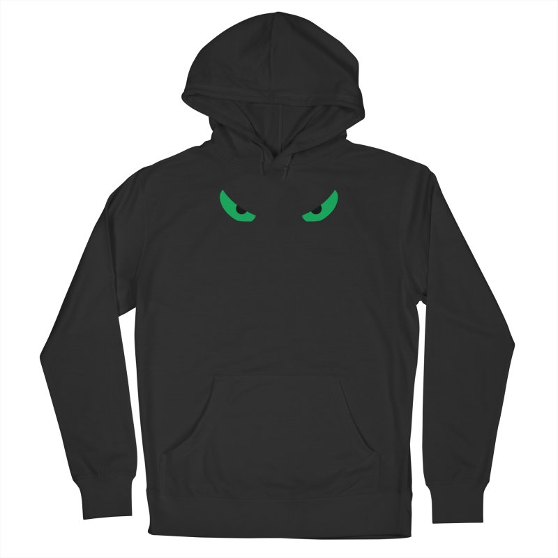 Toa - Tribal Green Eyes - Limited Edition Women's French Terry Pullover Hoody by TribEyes by Oly