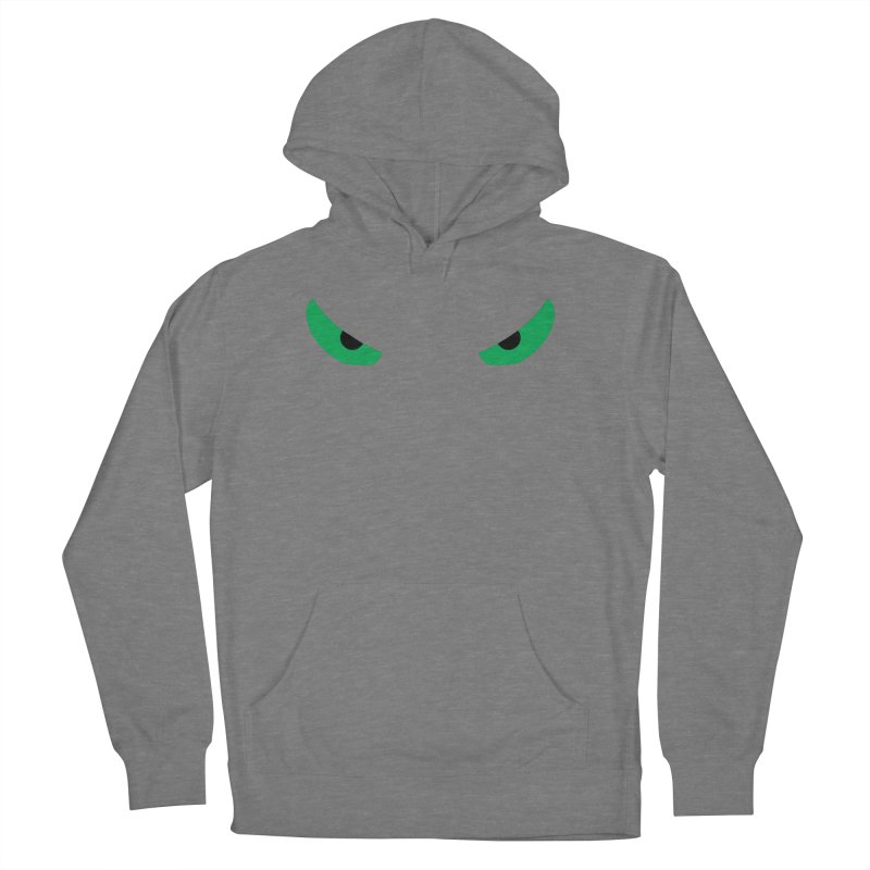 Toa - Tribal Green Eyes - Limited Edition Men's French Terry Pullover Hoody by TribEyes by Oly