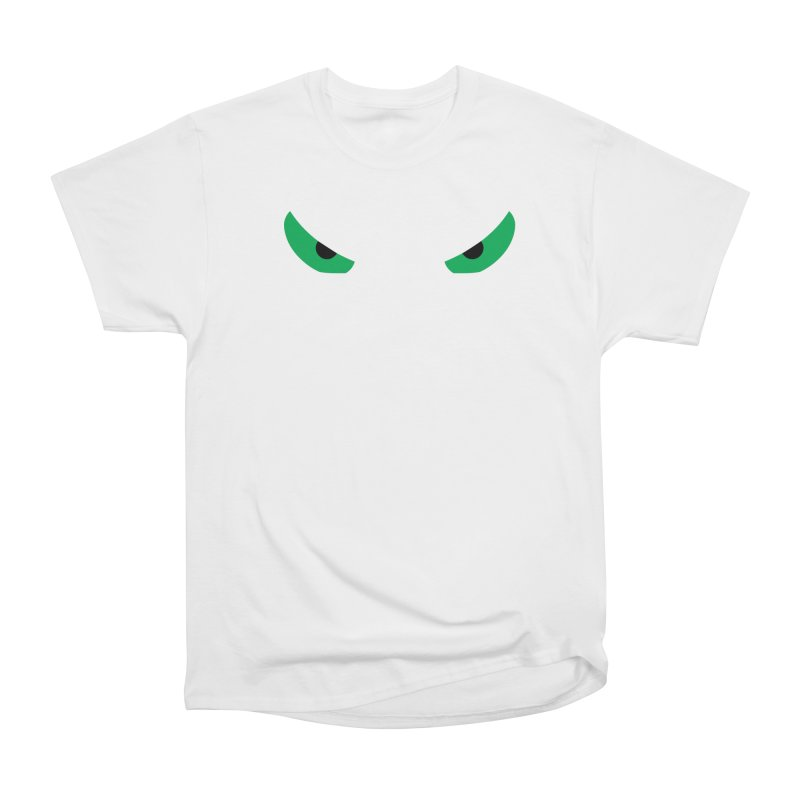 Toa - Tribal Green Eyes - Limited Edition Men's Heavyweight T-Shirt by TribEyes by Oly