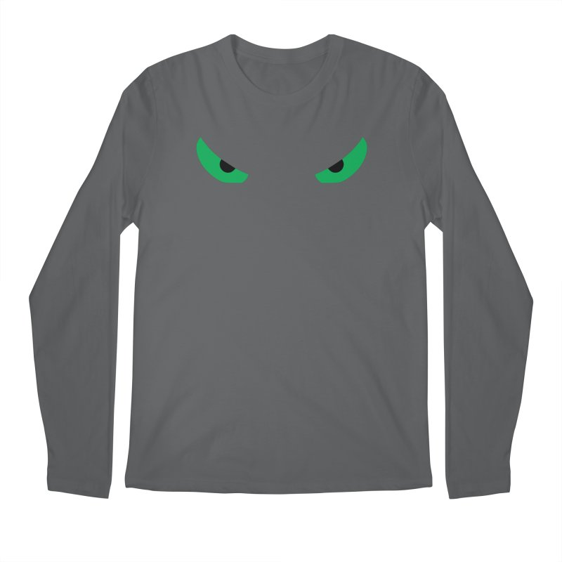 Toa - Tribal Green Eyes - Limited Edition Men's Longsleeve T-Shirt by TribEyes by Oly