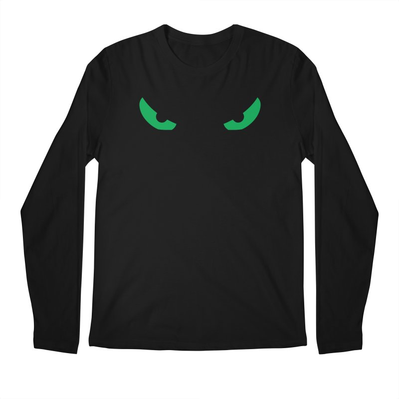 Toa - Tribal Green Eyes - Limited Edition Men's Regular Longsleeve T-Shirt by TribEyes by Oly