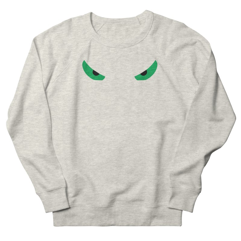 Toa - Tribal Green Eyes - Limited Edition Men's Sweatshirt by TribEyes by Oly