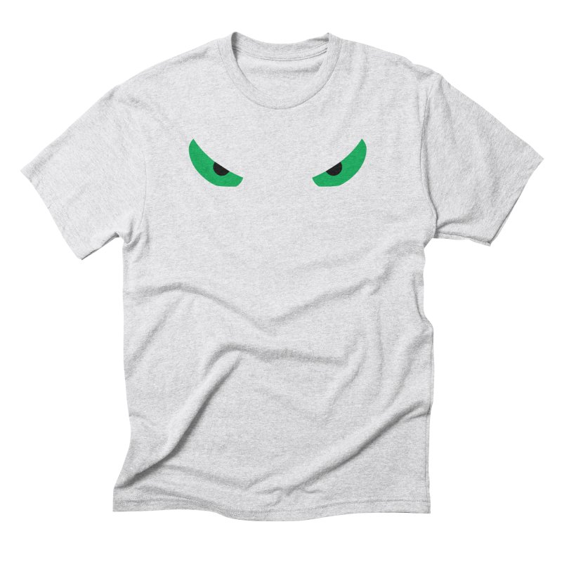Toa - Tribal Green Eyes - Limited Edition Men's Triblend T-Shirt by TribEyes by Oly