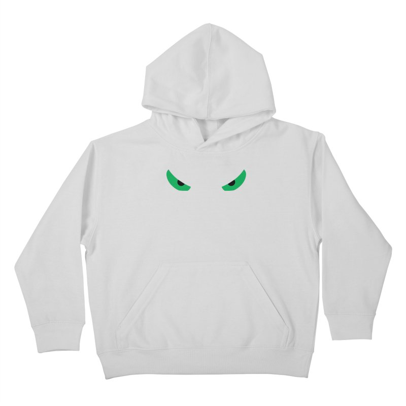 Toa - Tribal Green Eyes - Limited Edition Kids Pullover Hoody by TribEyes by Oly