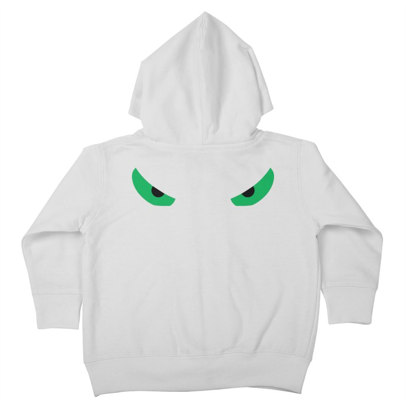 Toa - Tribal Green Eyes - Limited Edition Kids Toddler Zip-Up Hoody by TribEyes by Oly