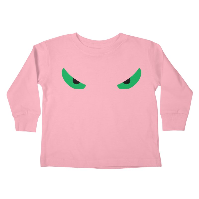 Toa - Tribal Green Eyes - Limited Edition Kids Toddler Longsleeve T-Shirt by TribEyes by Oly