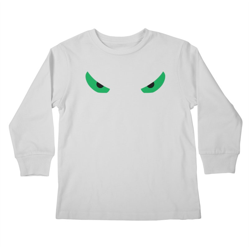 Toa - Tribal Green Eyes - Limited Edition Kids Longsleeve T-Shirt by TribEyes by Oly