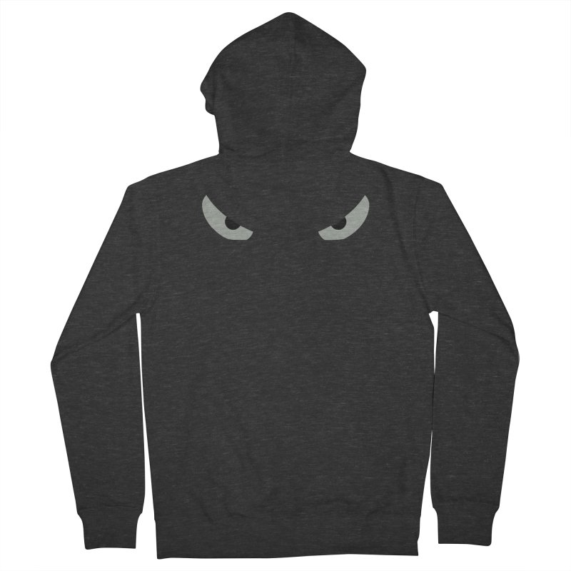 Toa - Tribal Grey Eyes - Limited Edition Women's French Terry Zip-Up Hoody by TribEyes by Oly